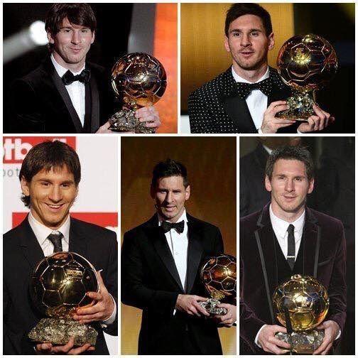 To już piąta nagroda za najlepszego piłkarza na świecie • Lionel Messi zdobył po raz piąty Złotą piłkę FIFA • Wejdź i zobacz więcej >> #messi #lionelmessi #football #soccer #sports #pilkanozna