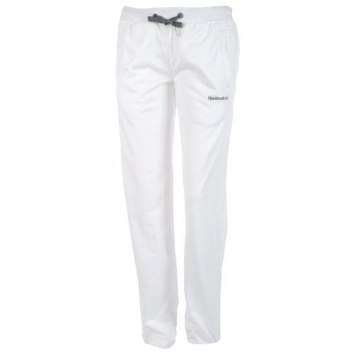 Reebok Classic Womens Tracksuit Bottoms - White by Reebok. $24.99. Elasticated waistband with draw cord for a personalised fit. 100% Polyester. 2 front zipped pockets for your smaller essentials and embroidered Reebok Classic logo on left thigh. Perfect for light exercise when on a run or at the gym. Regular fit that's not too tight nor too loose in any one area. These Reebok Classic Womens Tracksuit Bottoms are perfect for light exercise when on a run or at the gym, They have a...