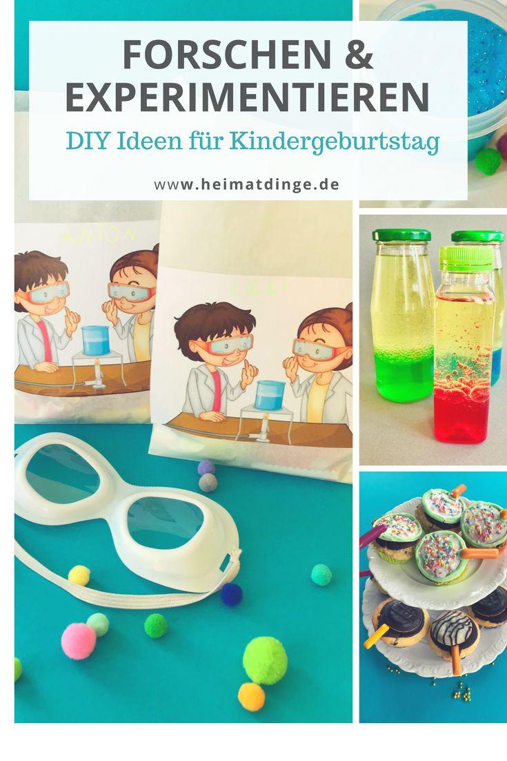 Forscher Kindergeburtstag: DIY Ideen für eine gelungene Party