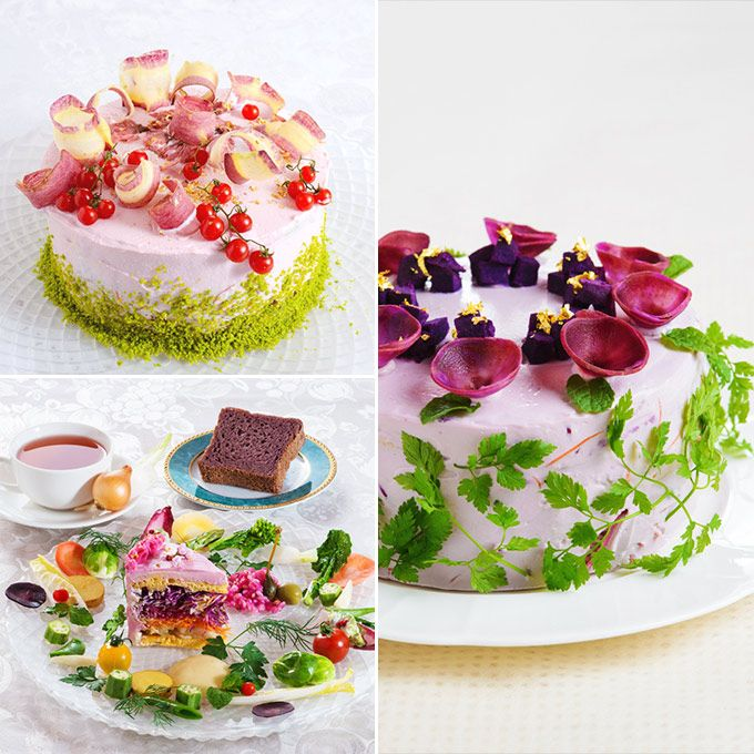 """Eating your vegetables just got a lot easier, thanks to the newest visually eccentric food trend: the """"Vegiedeco Salad."""""""