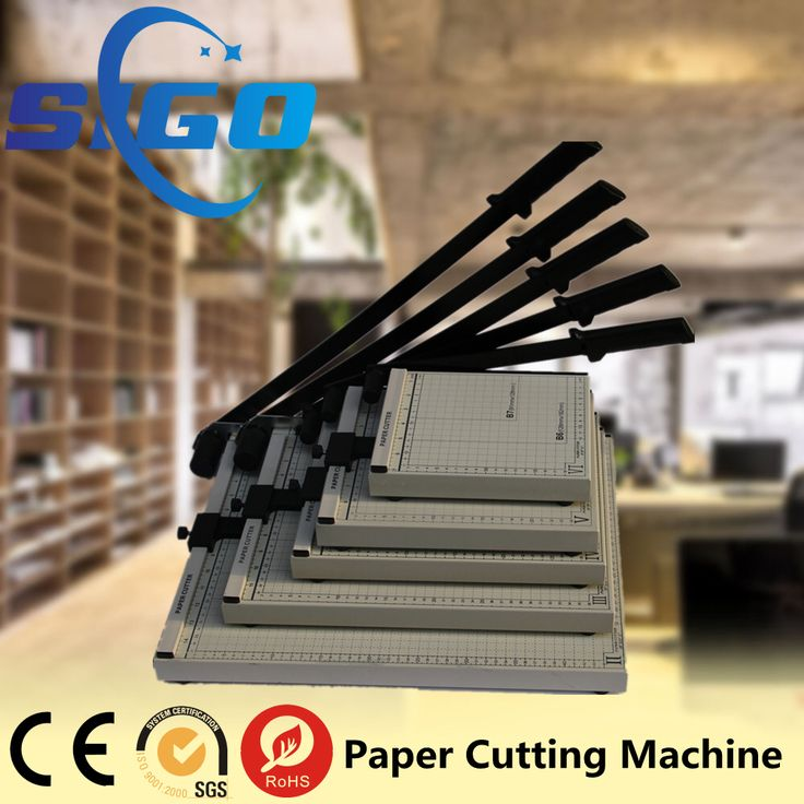 Check out this product on Alibaba.com APP SIGO best quality manual small leather guillotine cutter