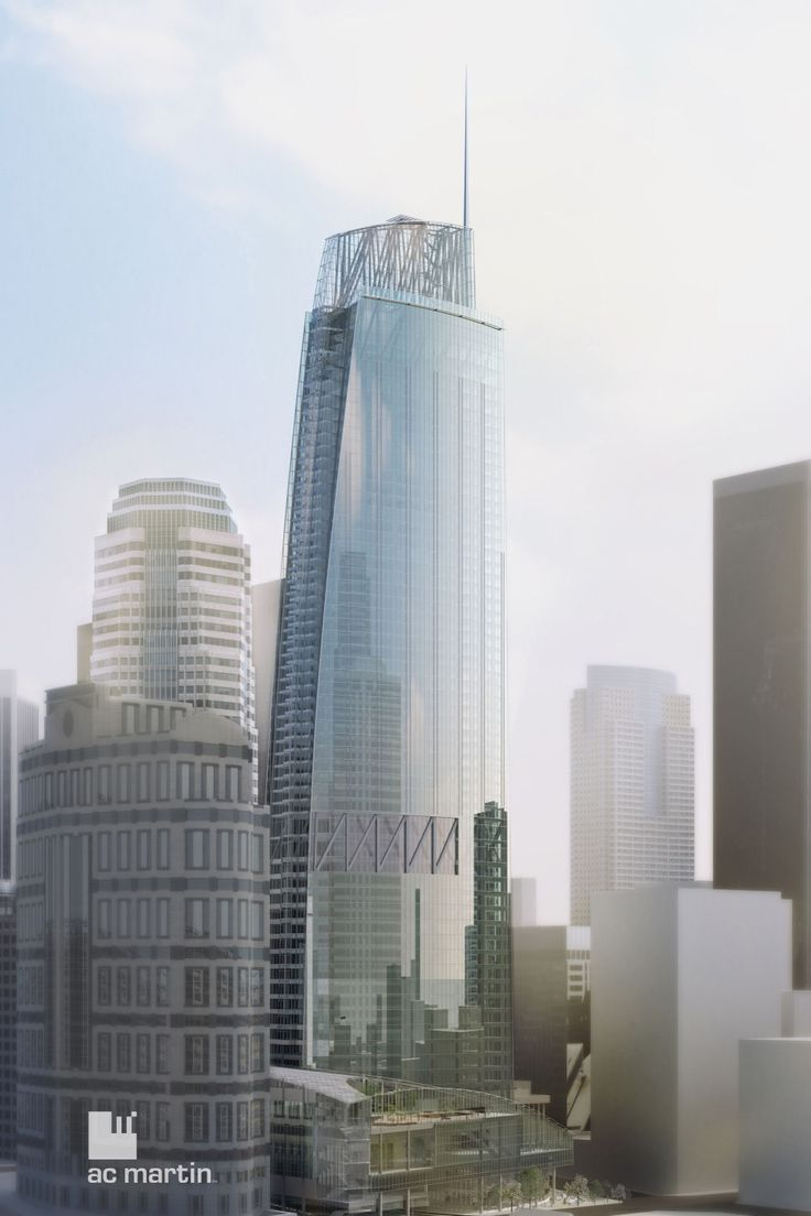 proposed Wilshire Grand Tower, Los Angeles I AC Martin
