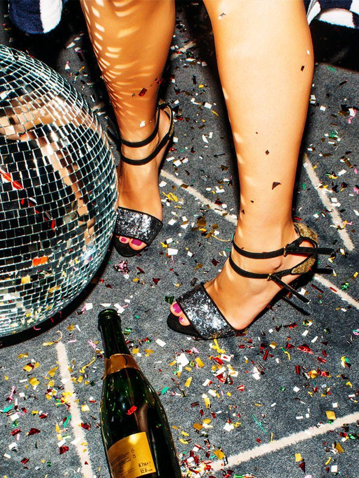 Mit diesem simplen Trick kannst du die komplette Silvester-Nacht in High Heels durchtanzen
