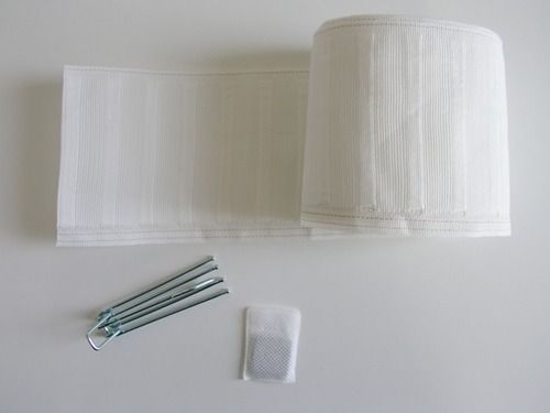 sewing 101:how to use pleating tape,  pleated + lined drapes | Design*Sponge