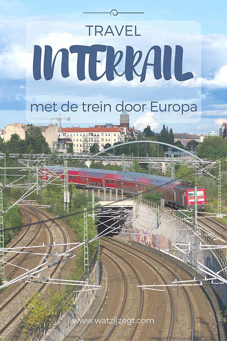 INTERRAIL: Met de trein reizen door Duitstalig Europa