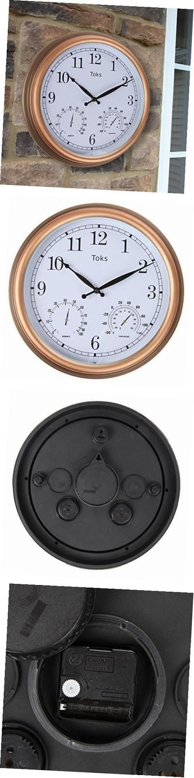 Outdoor Thermometers 75601: 3-In-1 Indoor Or Outdoor Wall Clock With Thermometer And Hygrometer - 15-Inch, -> BUY IT NOW ONLY: $38.85 on eBay!