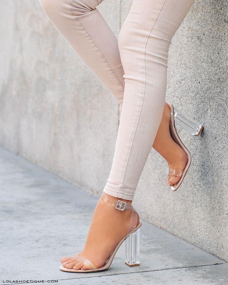 Resultado de imagem para transparent shoes outfit
