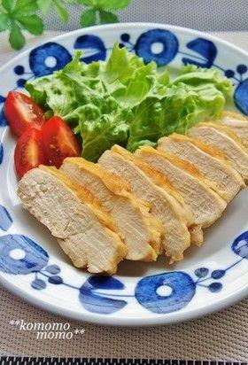 レンジで簡単!鶏むね肉の鶏チャーシュー風 by komomoもも [クックパッド] 簡単おいしいみんなのレシピが249万品
