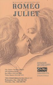 Romeo and Juliet 1989/90  > The Acting Company