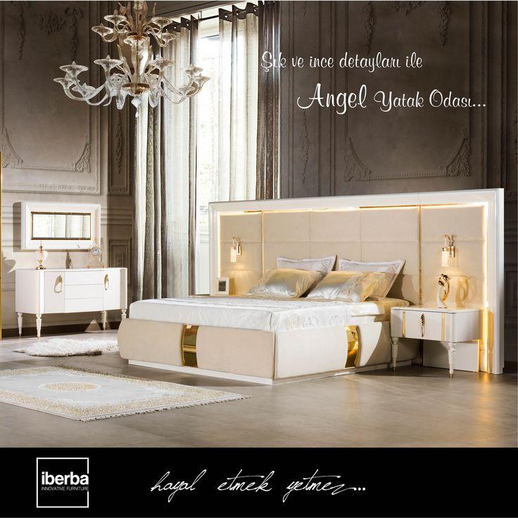 Güne Angel'ın huzur veren rengi ile başlayın! #iberbamobilya #mobilya #furniture #ahşap #wooden #yatakodasi #bedroom #yemekodasi #diningroom #ünite #tvwallunits #yatak #bed #gardrop #wardrobe #masa #table #sandalye #chair #konsol #console #dekor #decor #dekorasyon #decoration #koltuk #armchair #kanepe #sofa #evdekorasyonu #homedecoration #homesweethome #içmimar #icmimar #evim #home
