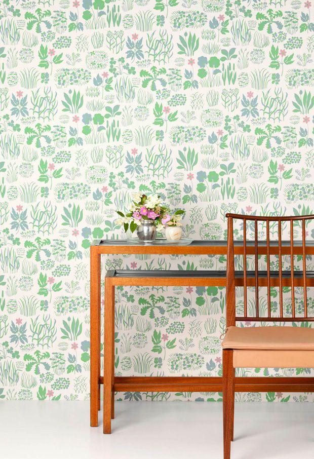 Sondasmorgen wallpaper josef frank