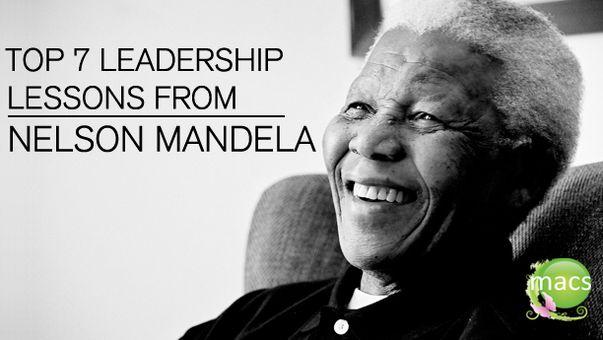 Nelson mandela leadership theory