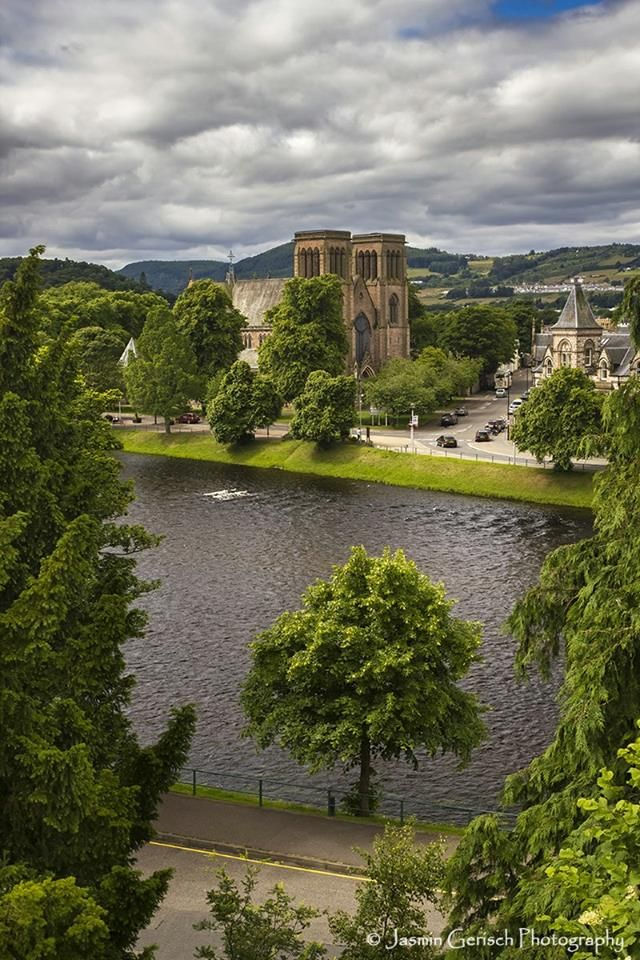 St. Andrews Cathedral, Inverness. Scotland.-