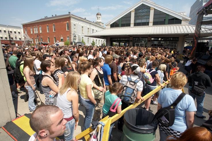 SCENE Festival, June 2012, St. Catharines, ON