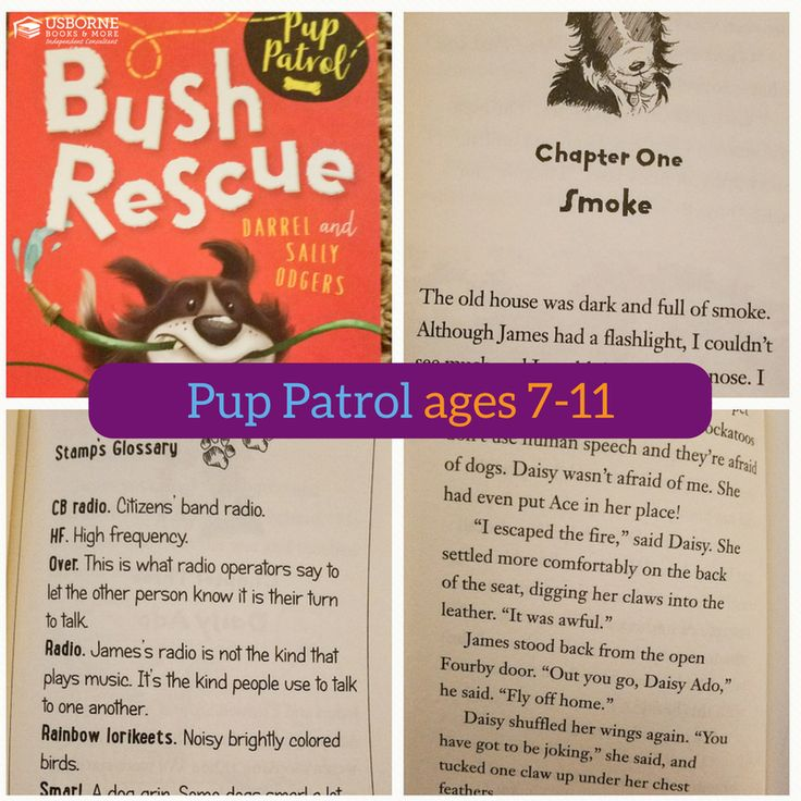 Pup Patrol: Bush Rescue (Book 2)... Paperback: $4.99... Library Bound: $10.99... Stamp is having a pawfectly wonderful time traveling around the country with his owner, James, and his terrier friend Ace, in the Fourby 4WD. As the Pup Patrol drive around Australia, they not only meet lots of new friends, but they have plenty of time for some wild adventures, too!