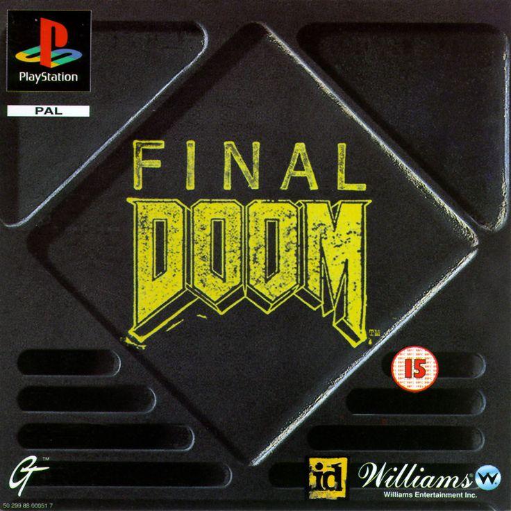 Image result for final doom ps1 box