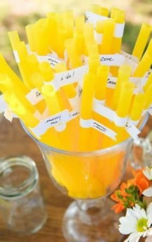 「イエロー・黄色」を結婚式のテーマカラーに!ウェディングアイデア