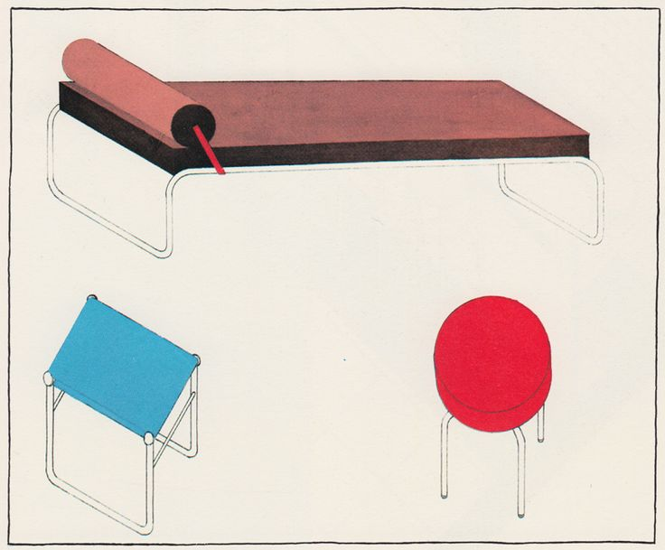 Charlotte Perriand Drawing