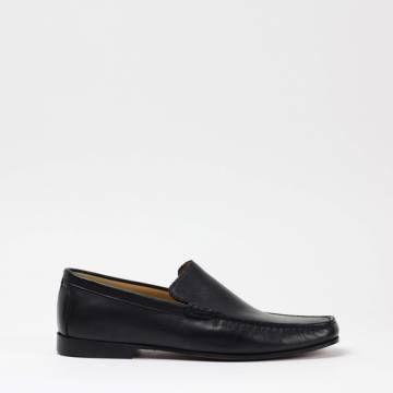 INDIOS NOGUAR 4 Nappa Portofino Nero Loafer Shoes Men Shoes