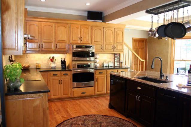 1000 Ideas About Oak Kitchen Remodel On Pinterest