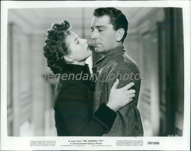 1950 The Sleeping City Original Press Photo Coleen Gray Richard Conte | Collectibles, Photographic Images, Contemporary (1940-Now) | eBay!