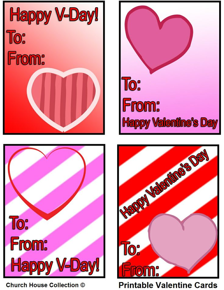 155 best images about Valentines Day Stuff – Valentine Cards for Kids