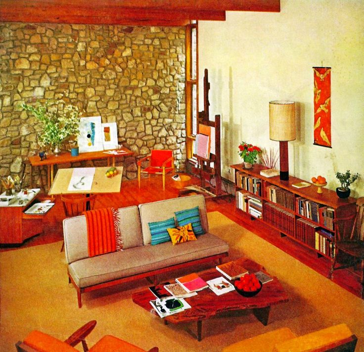 Image Result For 1970s Home Interiors