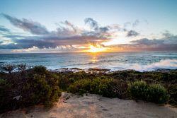 IMB-0006132 © WestPix Exploring the amazing Margaret River Region. Conto Beach sunset.