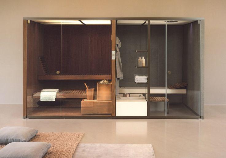 Sauna+Hammam: BodyLove by Rodolfo Dordoni with Michele Angelini