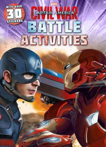 Marvel Captain America Civil War Battle Activities: With Over 30 Stickers: Cet article Marvel Captain America Civil War Battle Activities:…