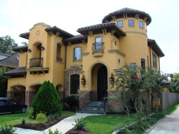 24 best images about yellow stucco ideas for tammy on for Tuscan home exterior colors