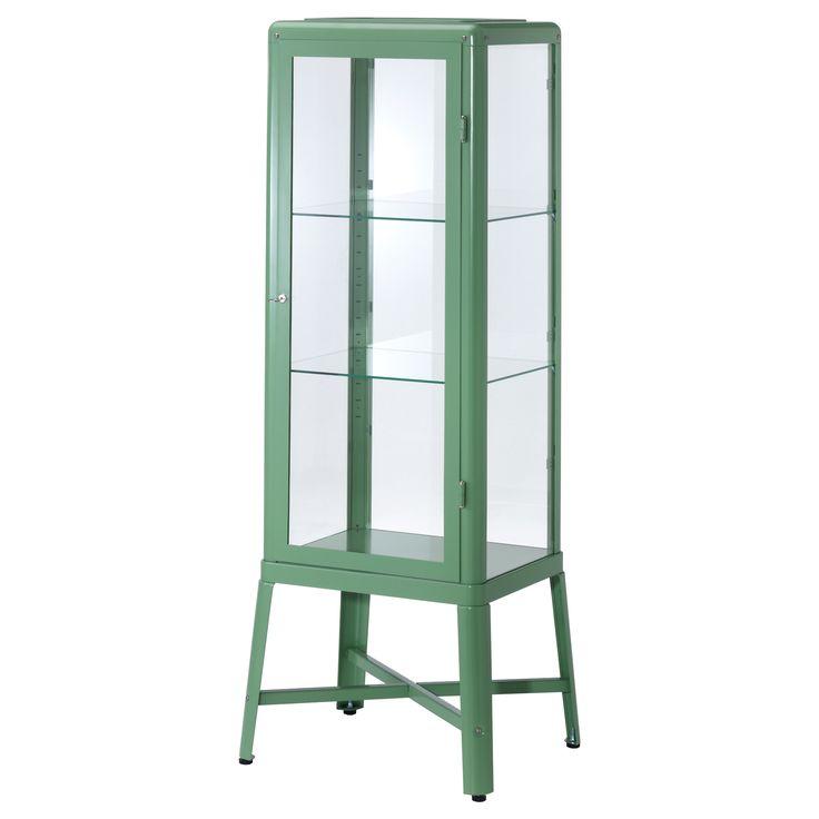 FABRIKÖR Vetrina - verde chiaro - IKEA