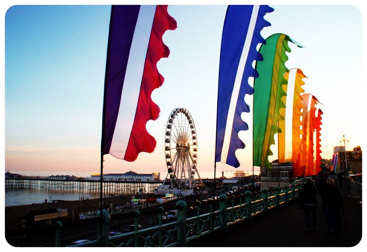 Brighton Rainbow Flags - Brighton's Epic 25th Pride Festival: Carnival of Diversity | Globetrotter Girls