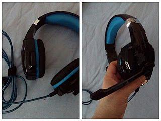 Nimrodel AT´s Foto, Bastel- und Produkttestblog: Gaming Kopfhörer