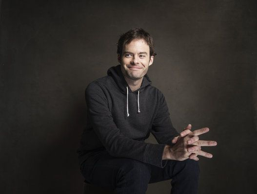 Bill Hader (Photo by Victoria Will/Invision/AP)  Great Lighting and expression on Bill Hader.