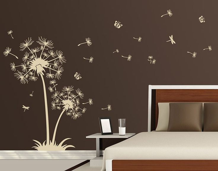 die besten 17 ideen zu wandtattoo pusteblume auf pinterest wandtattoo babyzimmer wandtattoo. Black Bedroom Furniture Sets. Home Design Ideas