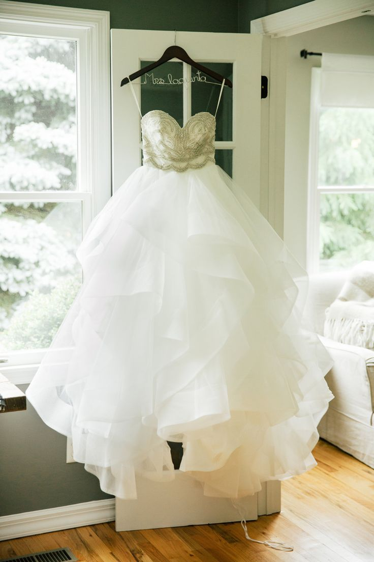 "Wedding Dress by Hayley Paige Designer / ""Dani"" bodice and ""Londyn"" skirt"
