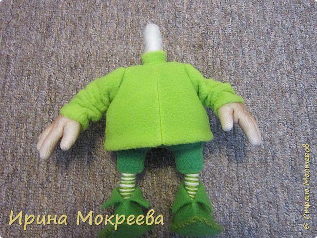 Наконец то выкладываю обещенный МК по гномам . Рост готовой куклы 34 см. фото 26