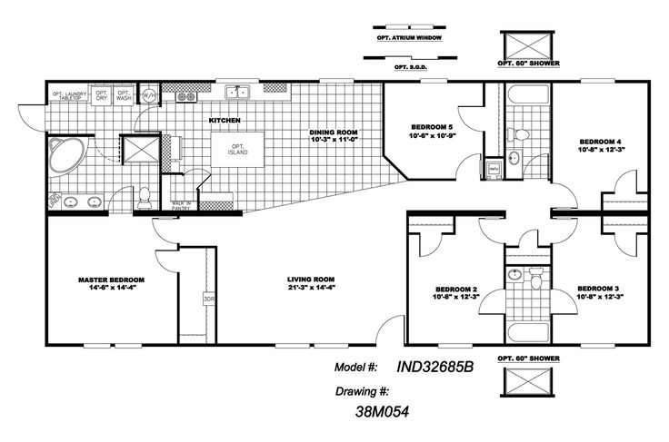 bedroom double wide floor plans fulloyunuindir with 5 bedroom mobile