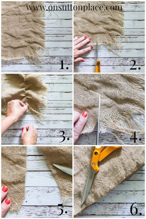 25 Best Ideas About Washing Burlap On Pinterest