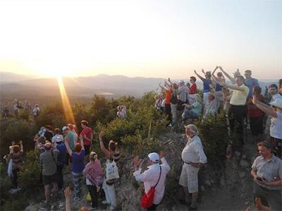 Summer Solstice 2013 at Bosnian Pyramids of the Sun