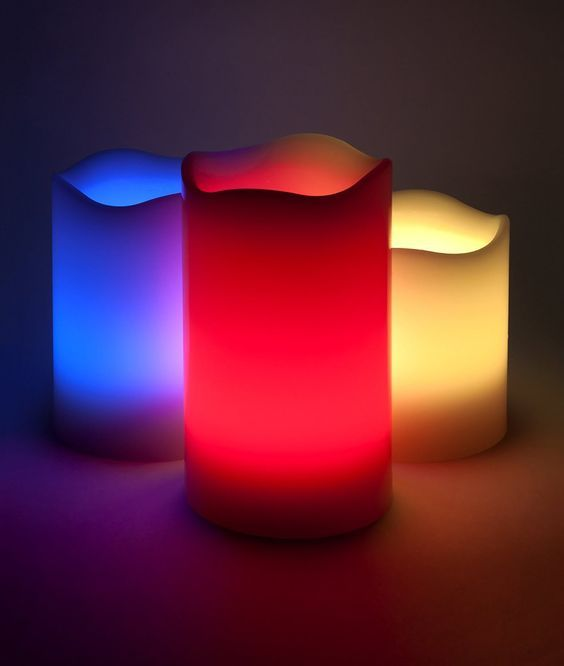 Flameless Candles with Remote Battery Candles - 3 Flameless Outdoor and Indoor Wax LED Color Changing Candles White with 18 Key Remote Control and Timer 4 and 8 hour Settings *** You can get additional details at the image link.