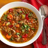 Lentil Soup with Beef Recipe
