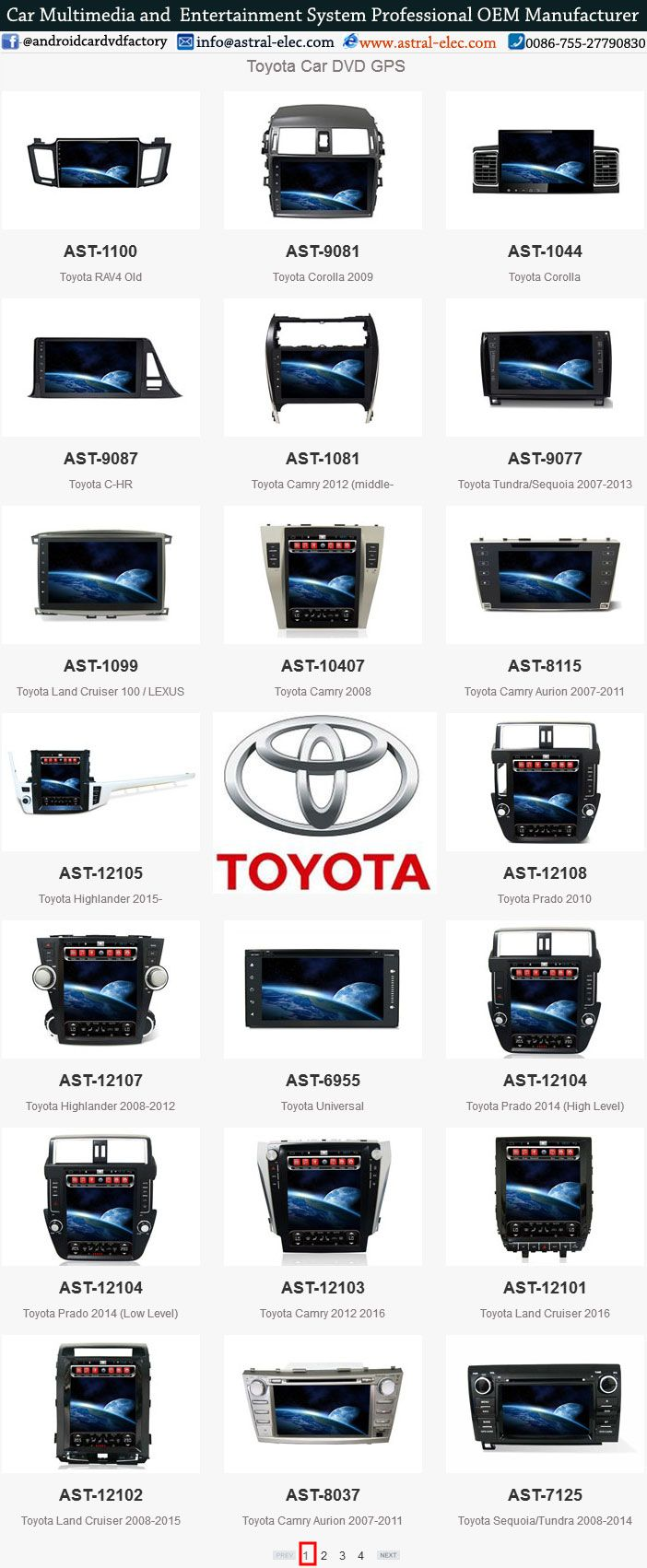Toyota Gps Navigation System Supplier China Toyota Integrated Navigation System Professional Oem Car Stereo Systems Android Car Stereo Double Din Car Stereo