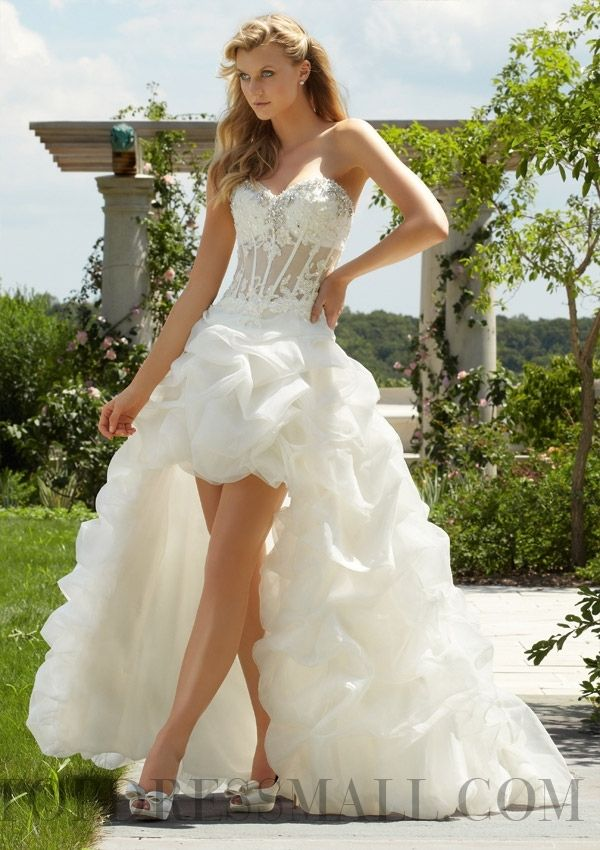 12 besten Short Wedding Dresses Bilder auf Pinterest ...