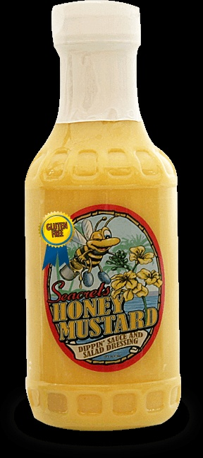 Seacrets Honey Mustard.  Can't wait to eat some jerk chicken... sold in Giant grocery stores.