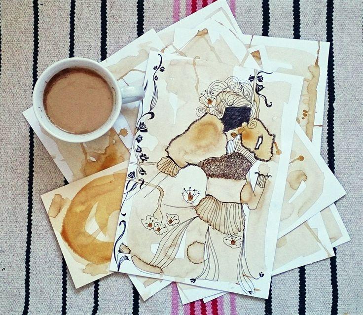 coffee illustrations