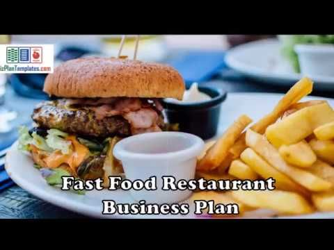 fast food restaurant business plan - template with example and sample