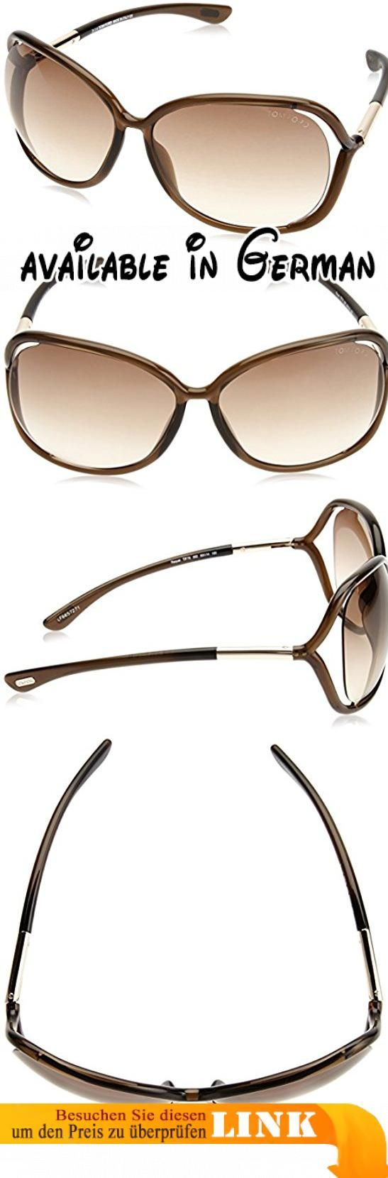 Tom Ford Sonnenbrille 76 (63 mm) Marrón, 63. Lens Width = 63mm. Nose Bridge Width = 14mm. Arm Length = 120mm. Sunglasses, Sunglasses Case, Cleaning Cloth and Care Instructions all Included. 100% Protection Against UVA & UVB Sunlight and Conform to British Standard EN 1836:2005 #Apparel #EYEWEAR