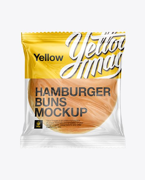 Seeded Burger Bun Pack Mockup. Preview